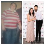 nora before and after joining slimming world
